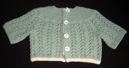 EZ February baby sweater