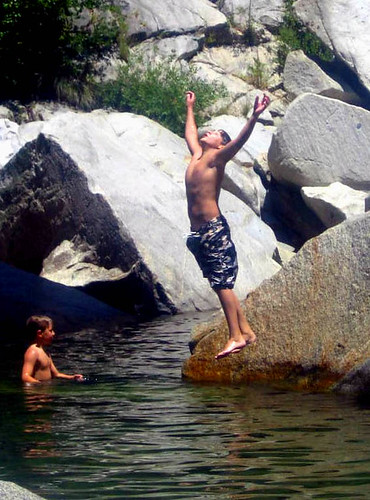 Summer Release, River Fun in California