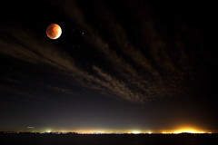 Lunar Eclipse (Garry - www.visionandimagination.com) Tags: travel wallpaper moon clouds stars photography mond eclipse flickr nocturnal oz photographers australia brisbane fullmoon microsoft queensland vista getty astronomy australien aus lunar australis soe garry gettyimages lunareclipse mondfinsternis australie vollmond moondance stockphotography novideo blueribbonwinner supershot xmaspresent mywinners abigfave perfectangle shieldofexcellence  superbmasterpiece diamondclassphotographer flickrdiamond blackribbonbeauty bestofaustralia flickrslegend msxdesign lastminutexmas shadowofearth visionandimagination wwwvisionandimaginationcom