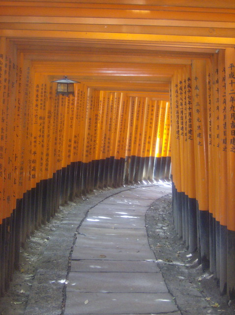 gates at fushimi inari