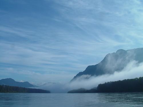 Upstream on the Fraser River....