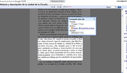 Noveades en Google Books