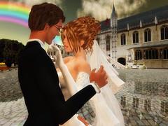 Yves & Elise's dream wedding @ Bruges / Brugge