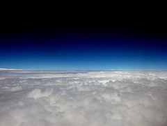 flying... (Alieh) Tags: blue cloud flying iran middleeast persia east iranian  abovetheclouds        aliehs alieh