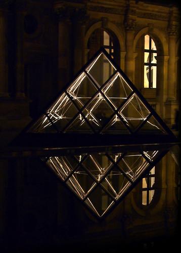 October 2007 - Le Louvre - reflexion