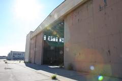 Abandoned Aircraft Hangar (drewpost) Tags: california abandoned unitedstates urbanexploration orangecounty oc derelict marinecorps hanger irvine armedforces eltoro lakeforest mcas offlimits greatpark airstation