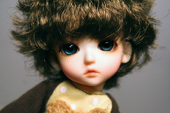 Rafalito (erregiro) Tags: boy ball eyes doll child version mini babe escultura ojos wig sculture bjd resin resina jaime adonis basic jointed peluca cristin erregiro rafalito