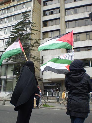 Marcha apoyo a Palestina / Gaza en Bogotá, Colombia - 20090106 - 1061751
