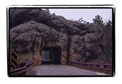 Snowy tunnel (Kristal Kraft ~ DenverDwellings) Tags: snow blackhills buffalo tunnel wyoming custer sdakota flickrshop oldrailroadtunnel