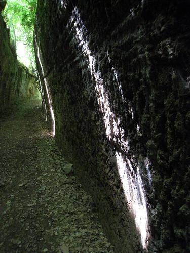 Etruscan ruins Sovana