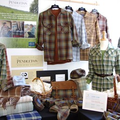 Pendletons showroom and preview of 2010 fall