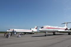 Tu-154 and TU-134 at Samjiyon (Ray Cunningham) Tags: air north korea northkorea dprk koryo northkoreanphotography raycunninghamnorthkoreanphotography dprkphotography 삼지연군
