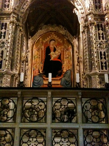 tabernacle in Orsanmichele