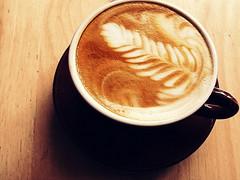 303/365: I love a pretty coffee (*Lemur*) Tags: toronto art coffee bar espresso lit latte project365