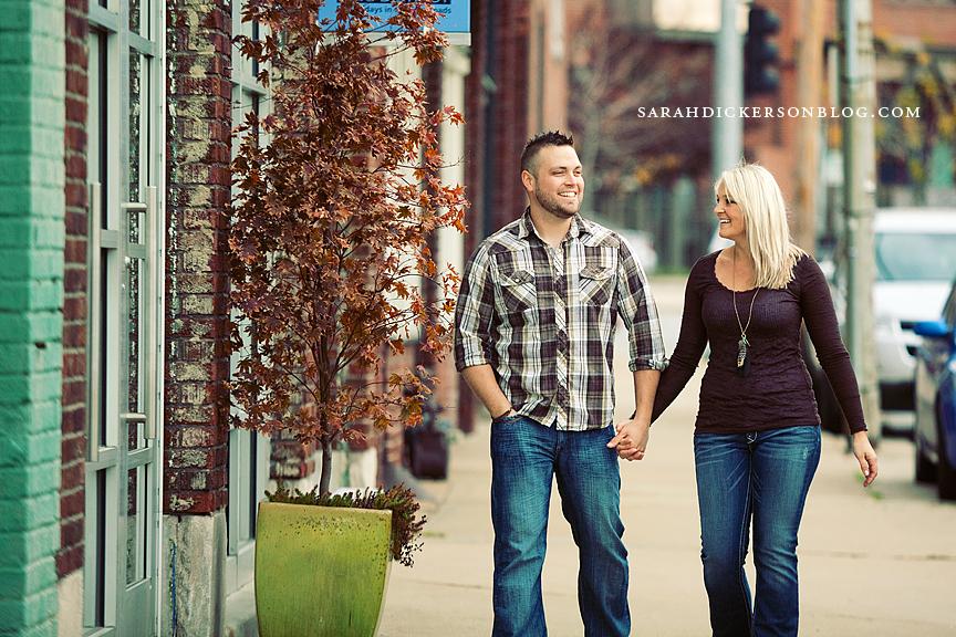 Kansas City Crossroads Arts District engagement session