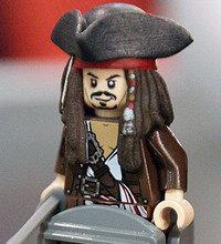 "Jack Sparrow vai se desmontar em ""LEGO: Pirates of the Caribbean"""