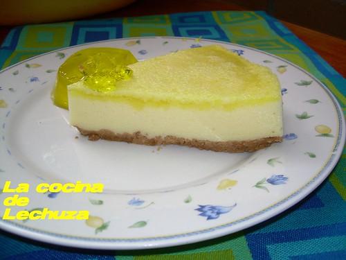 Pastel limón porción 2