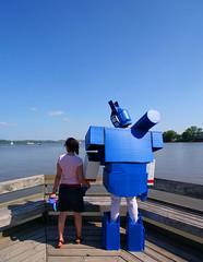 Robot Love (Aaron Webb) Tags: alexandria virginia robot potomac soundwave alexandriavirginia robotlove faym faymprod