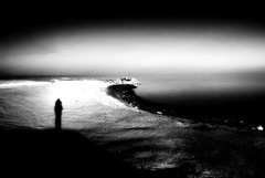 standing on the edge (jody9) Tags: silhouette soe saltonsea questfortherest standingontheedgeoftheworld ilikethestarkness