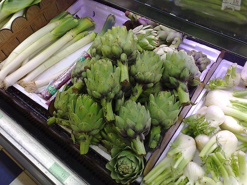 Artichokes in Singapore!!
