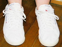 White Reebok Princess (Sneaker fan) Tags: white shoes princess sneaker reebok