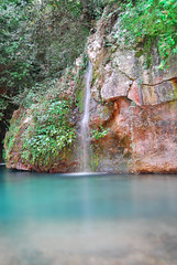 Zarka_Baakleen-River (A. Saleh) Tags: blue water pool swim nikon wide falls waterfalls 18mm naturesfinest nikond200 asaad baakleen asaadsaleh zarka nikon1855mmf3545