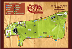 Rock The Bells Festival 2007 - New York Map