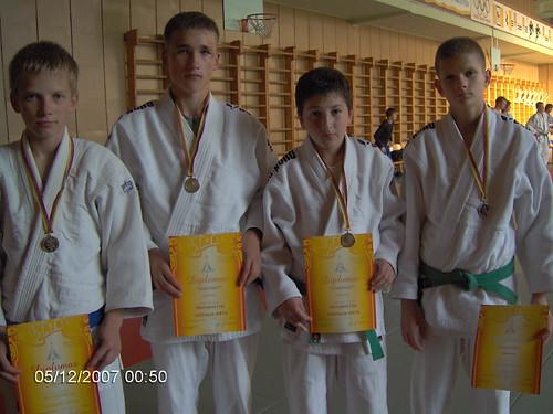 Iš kairės D.Kasteckas, T.Vaitkevičius, A.Oganian ir R.Diburys