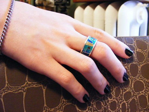 Jewelry - Enameled Ring