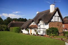 Greetings from Kenilworth UK (Nala Rewop) Tags: uk cottage thatch warwickshire kenilworth thatchedcottage mywinners