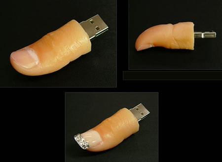 Thumb Looking USB Drive