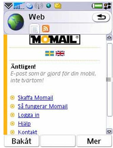 momail registrering