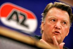 AZ-trainer Louis van Gaal