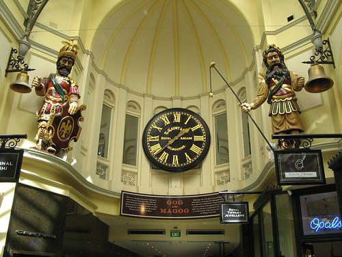 Gog & Magog (Royal Arcade)