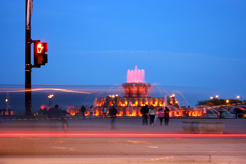 Buckingham Fountain after Dark