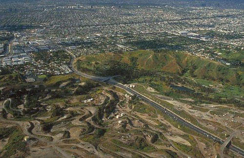 Baldwin Hills Aerial by The City Project.