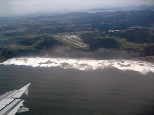 Aeropuerto de Ranón, desde el aire