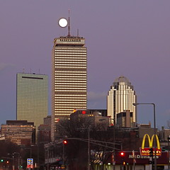 Full Moon Over Boston