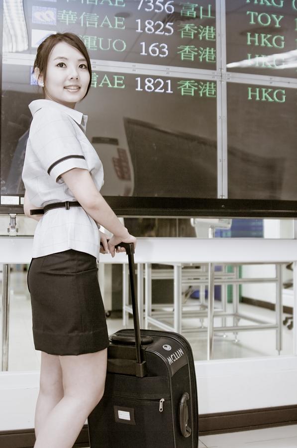 GaGa 台中機場(空姐風)