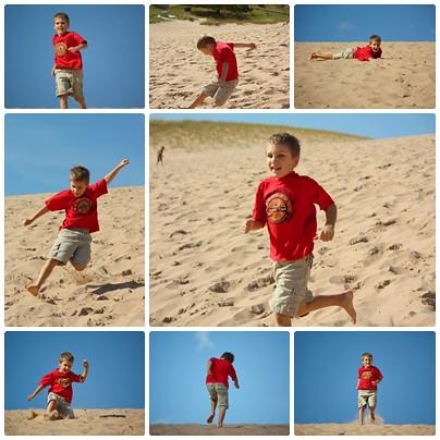 Sam on dune