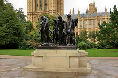 The_Burghers Of Calais (wayt80) Tags: westminster autunno statua paesaggi londra monumenti calais inghilterra cattedrale burghers