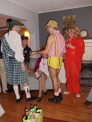 Garrett & Dave's Halloween Party 2010 (S.S.Poseidon) Tags: party halloween costume kilt mattf erict brunon dustink