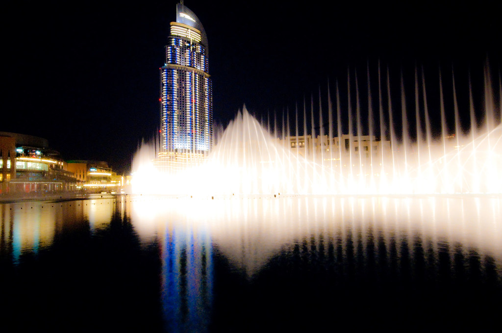 The Address Hotel& Dancing fountains