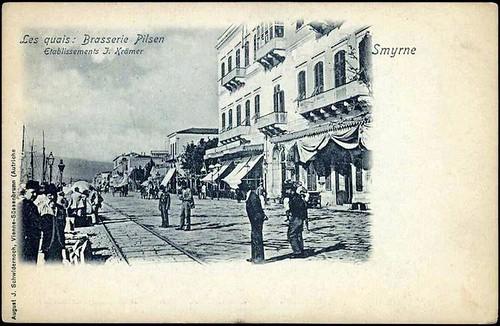 Karpostallarda yangından önce İzmir