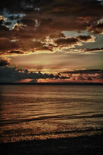 Stokes Bay Sunset (Vibrant Scenery Preset)