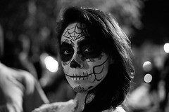 (bex finch) Tags: sanfrancisco portrait dayofthedead paloma diadelosmuertos facepaint themission