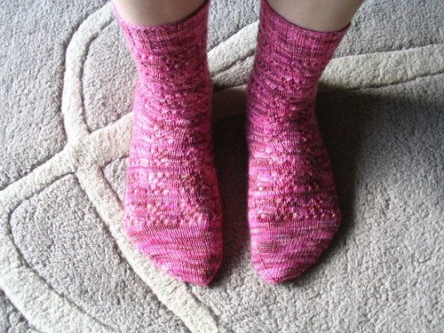 Child's Sock in Miranda Pattern
