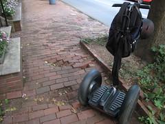 Dilapidated sidewalks in Georgetown