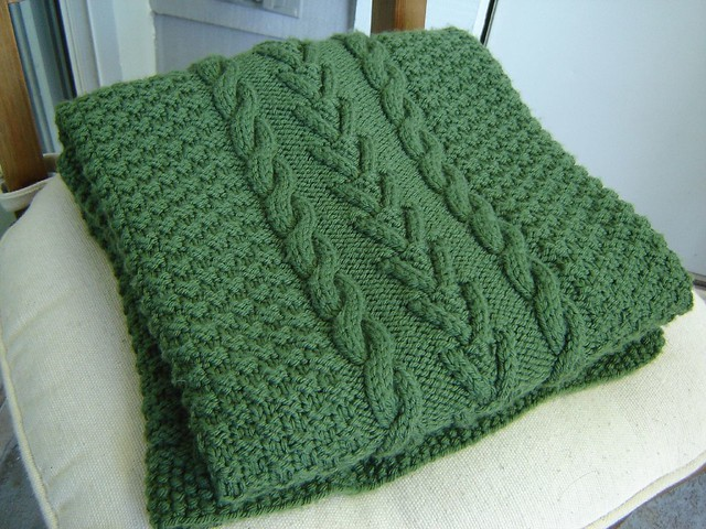 Ravelry Aran Blanket Pattern By Linda Daniels