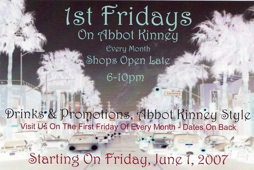 1st Fridays on Abbot Kinney